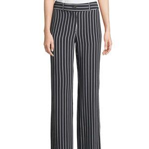 Equipment Lita Striped Silk Trousers NWT